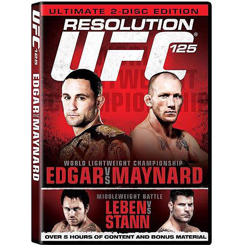 UFC 125: Resolution Edgar Vs. Maynard by IDT CORPORATION