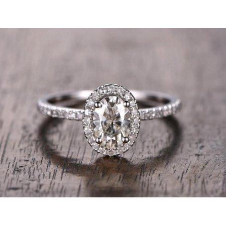 1.25 Carat Moissanite Ring