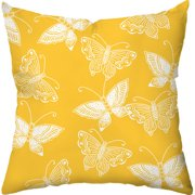 Checkerboard, Ltd Flutter Throw Pillow