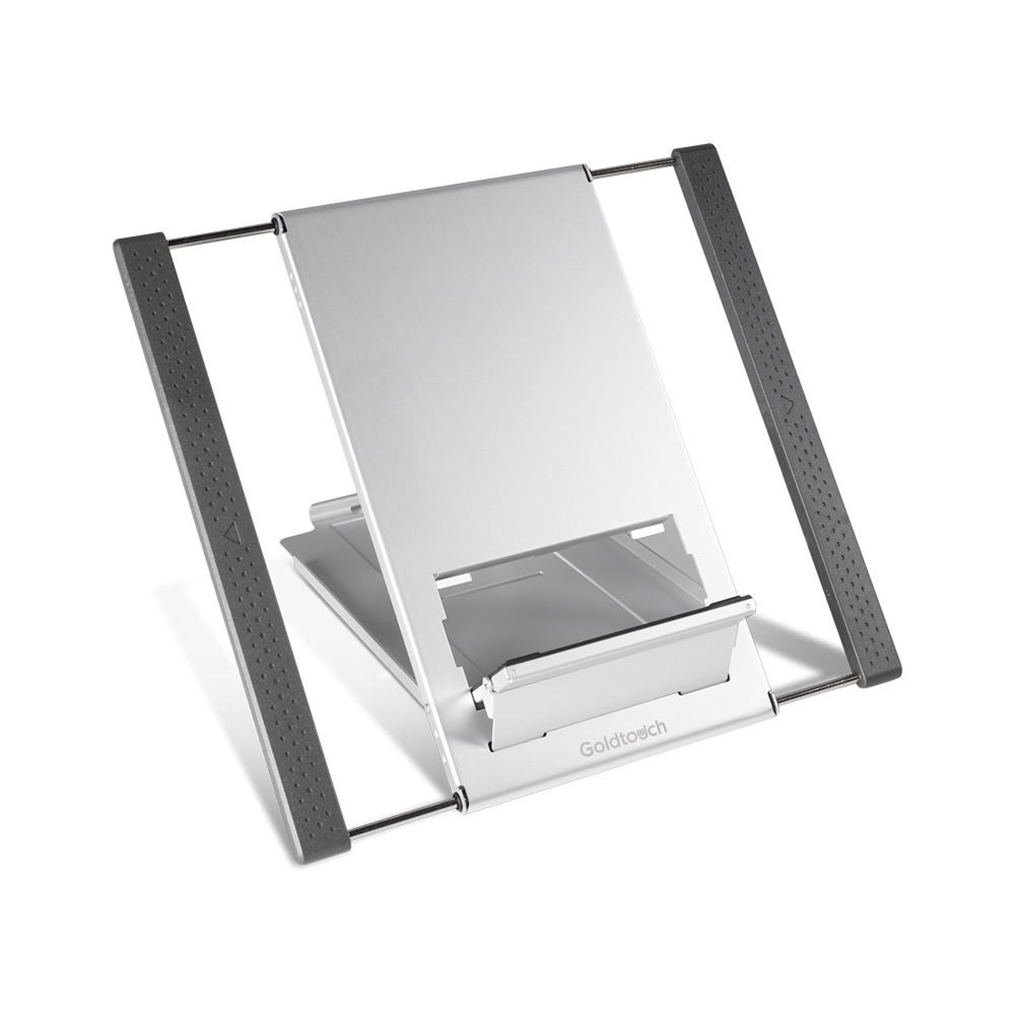Goldtouch GTLS-0055 Go! Travel Laptop and Tablet Stand (Aluminum)