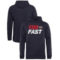 198d9cf13382 Product Image New Orleans Pelicans Fanatics Branded Youth Too Fast Pullover  Hoodie - Navy