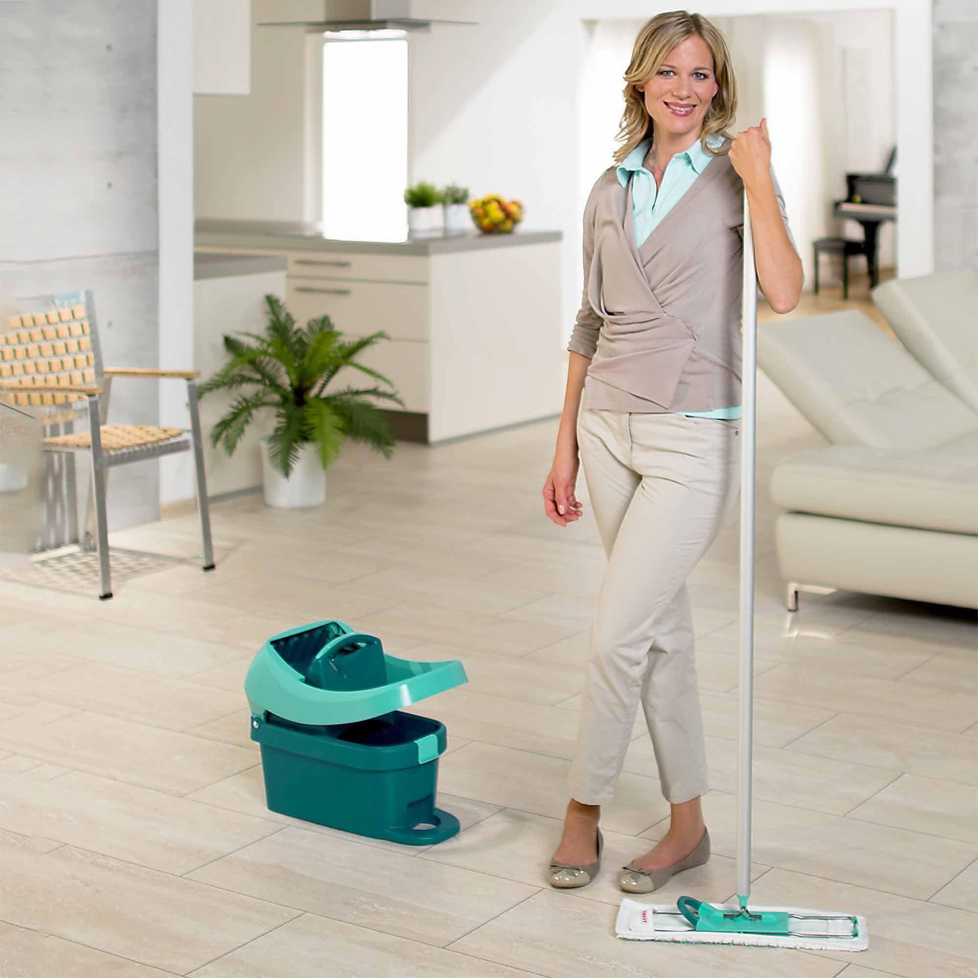 Mopping Kitchen Floor Leifheit Profi System Mop Press Set Walmartcom