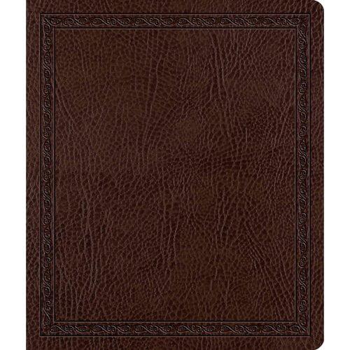 The Holy Bible ESV English Standard Version Journaling Bible: ESV Journaling Bible Mocha,Bonded Leather,Threshold Design