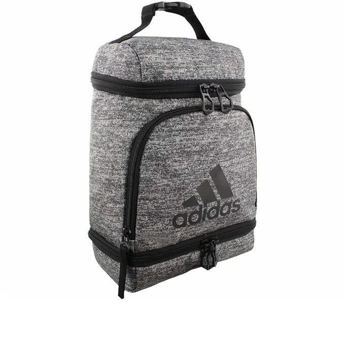 adidas Excel Lunch Bag, Onix Jersey/Black, One Size - Walmart.com