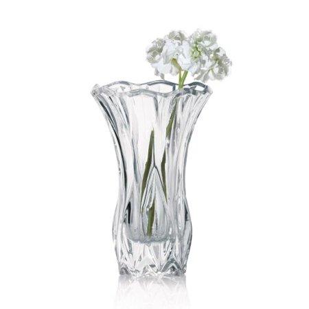 Mikasa Blossom 105 Inch Crystal Vase Walmart