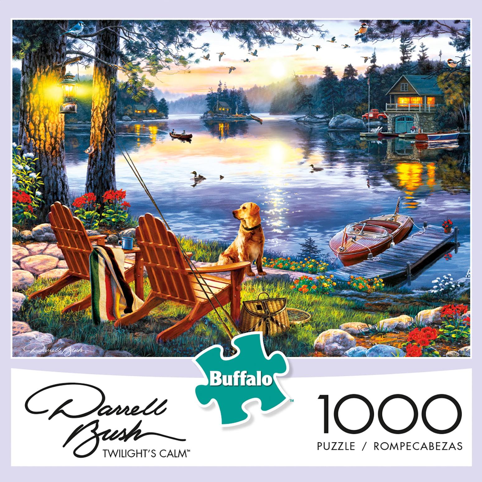 Buffalo Games Darrell Bush Twillight S Calm 1000