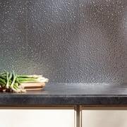 Fasade  Hammered in Brushed Aluminum Backsplash 18-square-foot Kit