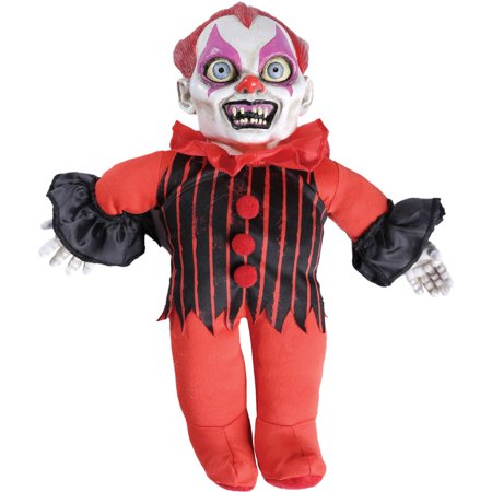 Clown Haunted Doll Halloween Decoration - Homemade Halloween Clown Props