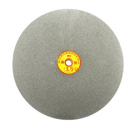 250mm 10-inch Grit 150 Diamond Coated Flat Lap Disk Wheel Grinding Sanding Disc