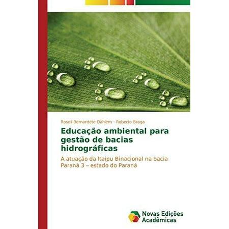 Educacao Ambiental Para Gestao De Bacias Hidrograficas