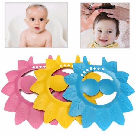 3783b54dc WinkSoar Safe Shampoo Baby Shower Cap Bathing Protection Soft Cap ...