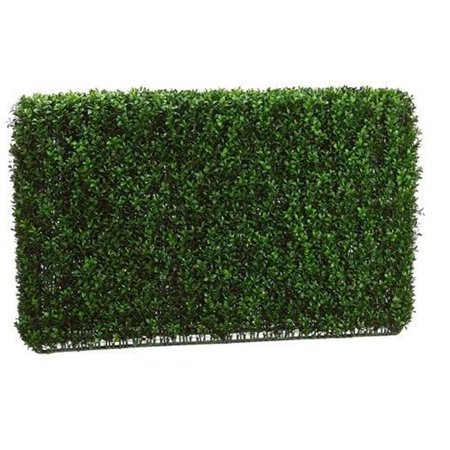 Allstate Floral Lpb255 Gr Tt 24 In  Hx7 In  Wx36 In  L Boxwood Hedge Two Tone Green