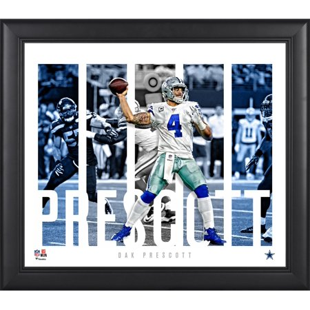 Dak Prescott Dallas Cowboys Framed 15