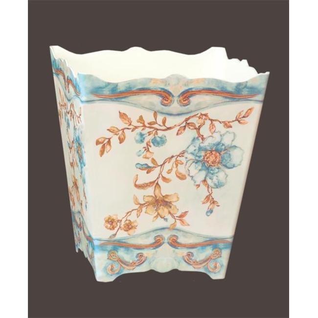 Keller-Charles 9059 JULIET Wastebasket designed by Christina Ladas