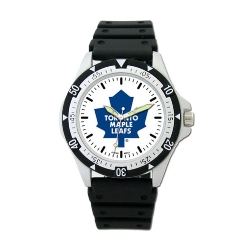NHL - Toronto Maple Leafs Option Sport Watch with Rubber Strap