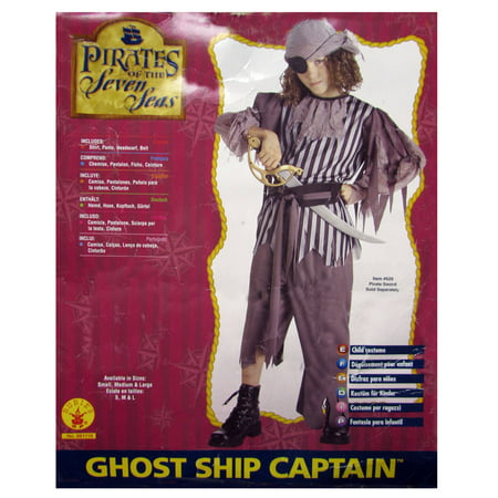 Cute Shih Tzu Halloween Costumes (Rubie's Boys 'Ghost Ship Captain' Halloween)