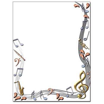 Classical Music Letterhead Laser & Inkjet Printer Paper