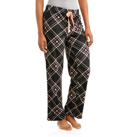 Secret Treasures Women's Super Minky Plush Pajama Sleep Pants
