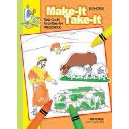 Echoes Summer 2019: Preschool Make-It/Take-It (Craft Book) (#5013) - Winter Preschool Crafts