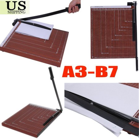 18 Inch 18  Paper Cutter 15 2 X18 4  Guillotine Blade Metal Base B4 Trimmer Scrap Booking Office