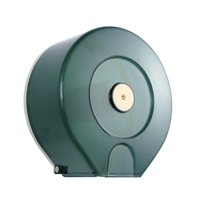 Jumbo Roll Toilet Paper Dispenser Lockable Design Translucent 250M Long