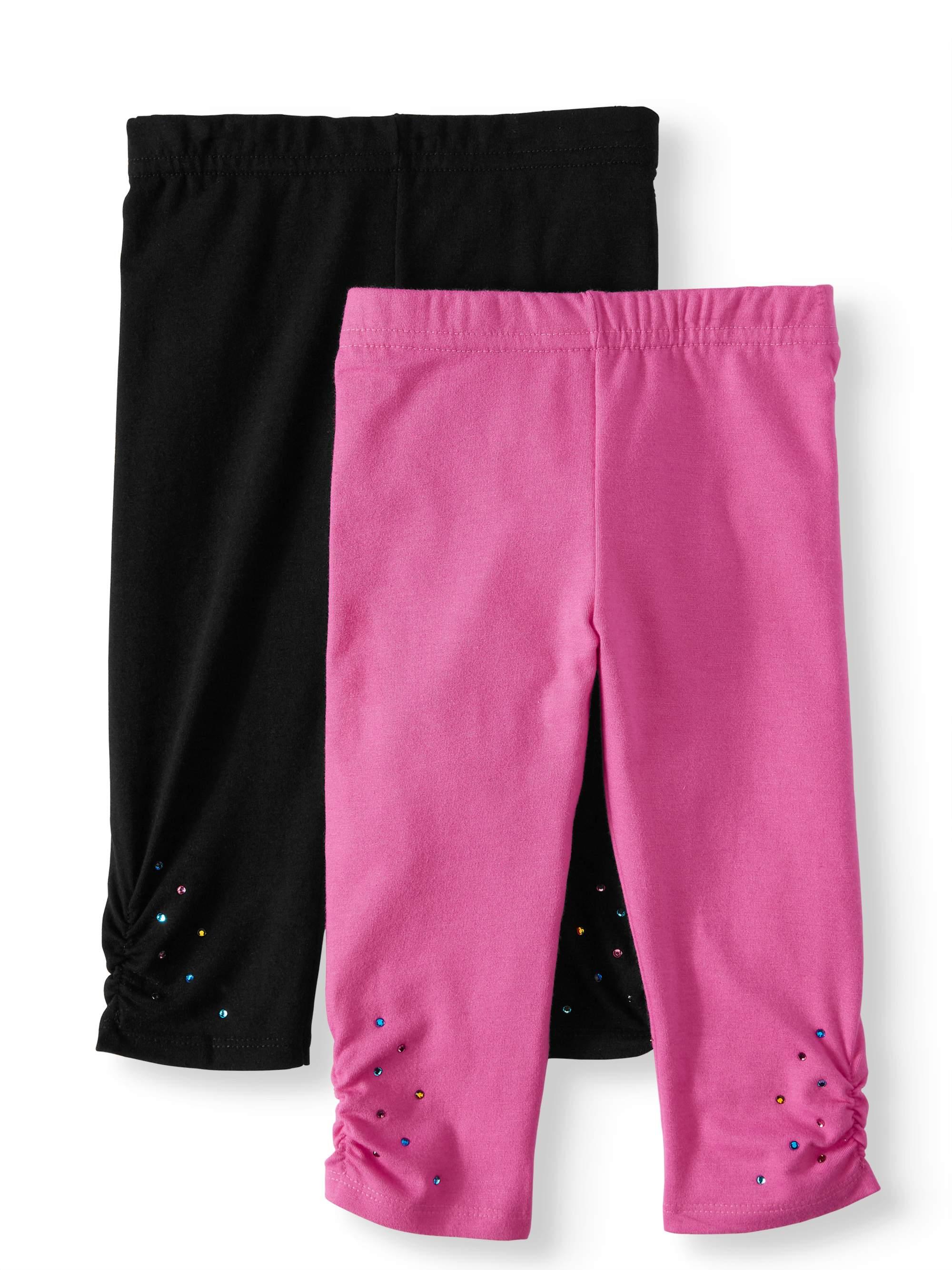 Capri Leggings, 2-Pack (Little Girls & Big Girls)