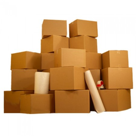 Material Box - 4 Room Basic Kit- 55 moving boxes & packing materials