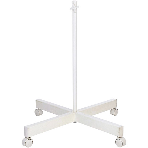 Four Spoke Floor Stand for Combo Lamp