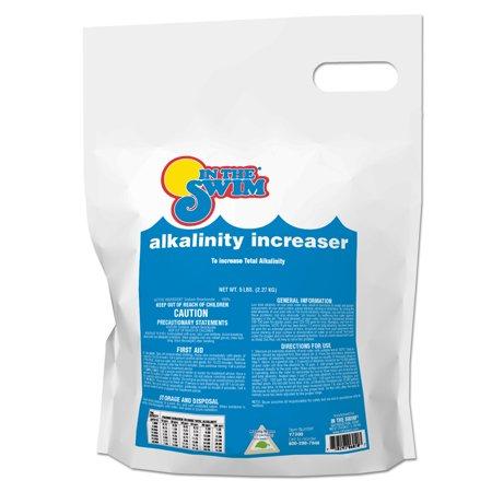 In the swim pool alkalinity increaser 5 lb bag for Raise alkalinity in swimming pool