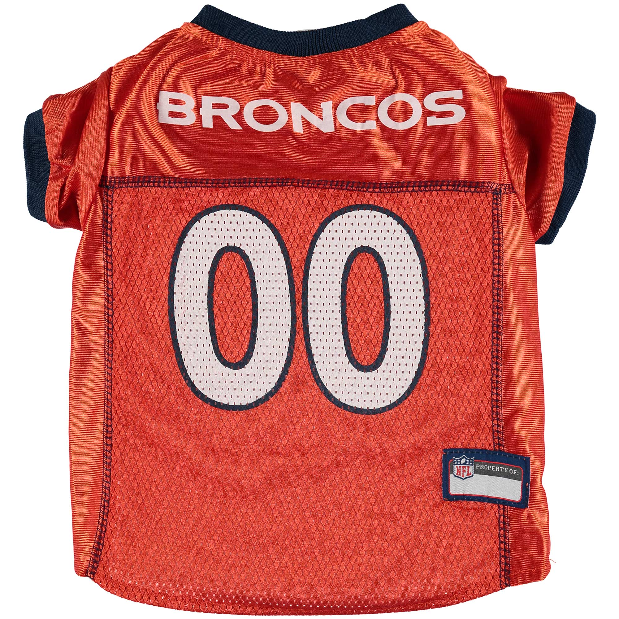 Denver Broncos Mesh Dog Jersey