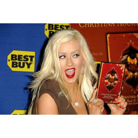 Christina Aguilera At In-Store Appearance For Christina AguileraS Back To Basics - Live And Down Under Dvd Signing West Hollywood Best Buy Los Angeles Ca February 05 2008 Photo By Dee CerconeEverett (Best Baby Back Ribs In Los Angeles)