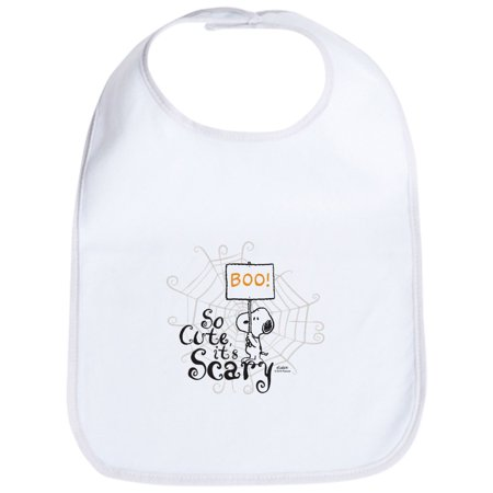 CafePress - Snoopy: So Cute It's Scary Bib - Cute Cloth Baby Bib, Toddler - Scary Babies