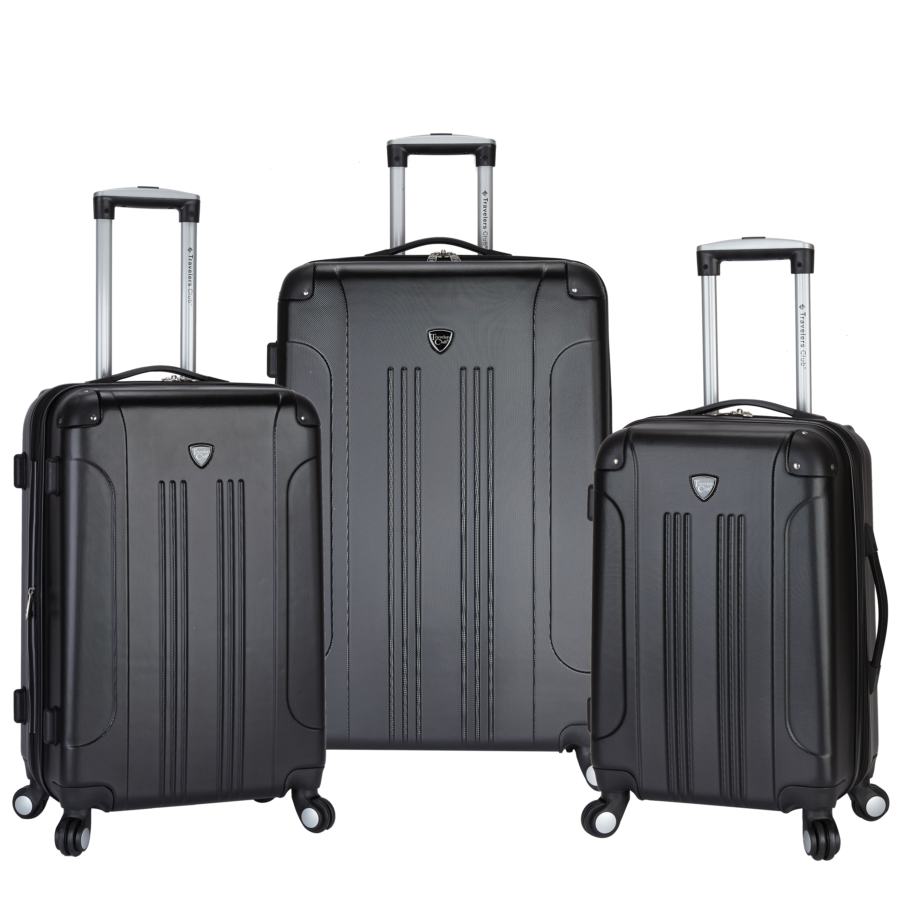 Travelers Club 3 pc. Expandable hard-side luggage set by Travelers Club