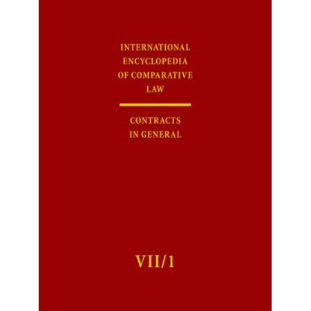 International Encyclopedia of Comparative Law: Contracts in General