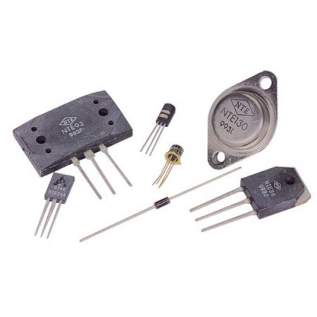 NTE Electronics NTE584 Silicon Schottky Rectifier Diode, RF Switch, DO-35, 0.035 Amp Forward Continuous Current, 20V