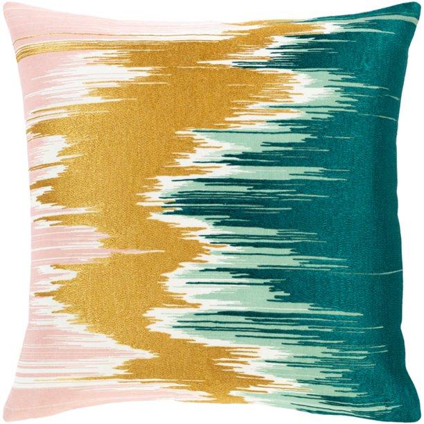Surya Lexi 22 X 22 Cotton Pillow Cover Lxi001 2222 Walmart Com Walmart Com