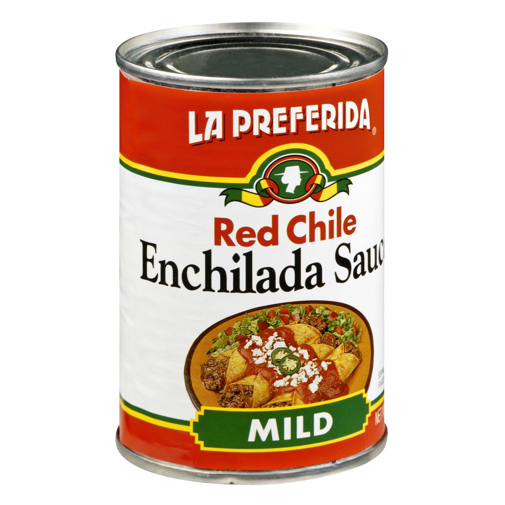 La Preferida Red Chile Mild Enchilada Sauce, 10.0 OZ