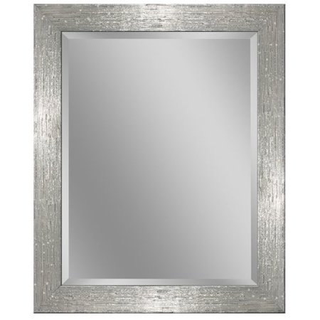 Laude Run Driftwood Beveled Edge Bathroom Vanity Wall Mirror
