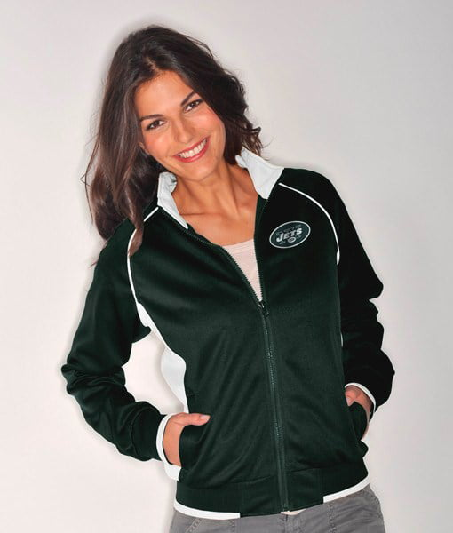 New York Jets Women's NFL Medalist Full Zip Team Color Track Jacket by G-III Sports