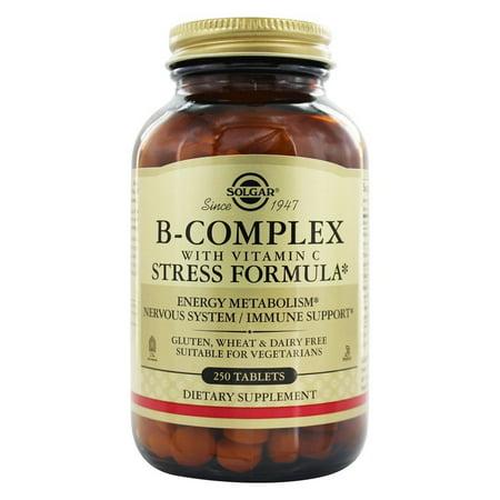 - Complexe B avec vitamine C stress Formule - 250 comprimés
