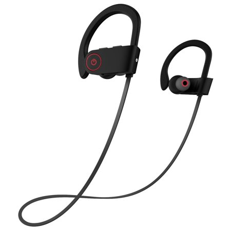 5df940d8cc7 Otium Bluetooth Headphones Best Wireless Sports Earphones w/ Mic IPX7  Waterproof HD Stereo Sweatproof In