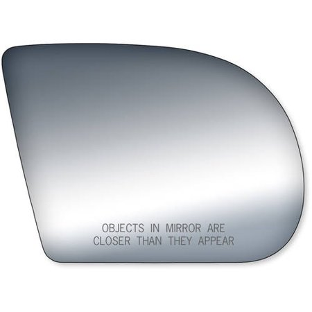 90053 - Fit System Passenger Side Mirror Glass, S10 Pick-Up, Jimmy Mid Size 98-03, Envoy Mid Size 99-03, Sonoma Pick-Up 98-04, Blazer Mid Size 99-05, Oldsmobile Bravada Mid Size 99-05