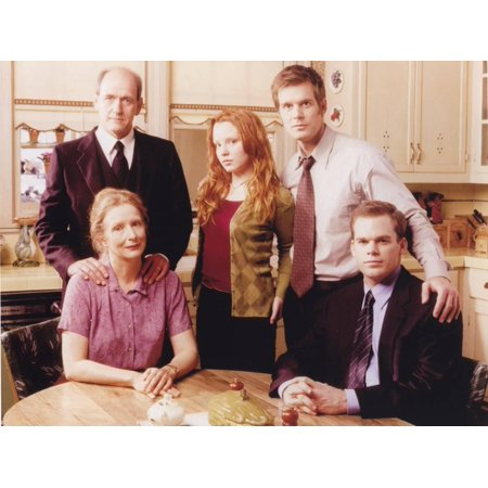 Six Feet Under Taking a Group Picture in the Dining Room Print Wall Art By Movie Star
