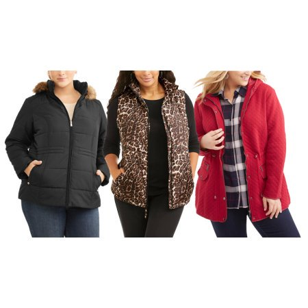 Women;s Plus-Size Cozy Outerwear From $9 (Your Choice!)
