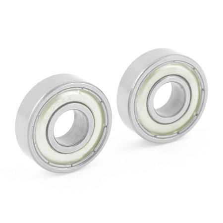 Unique Bargains Pair 6000ZZ Dual Shielded Sealed Deep Groove Ball Bearings  26mm x 10mm x 8mm
