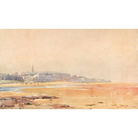 Liverpool 1907 Evening at New Brighton Canvas Art - James Hamilton Hay (24 x 36)