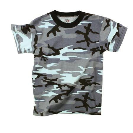 - Sky Blue Camo T-Shirt