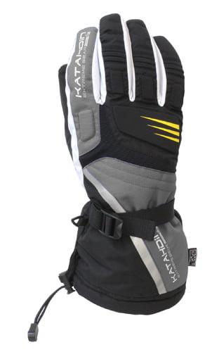 Katahdin Gear 84181806 Cyclone Snowmobile Gloves 2XL Grey