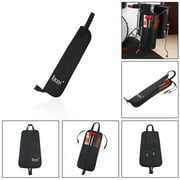 Drum Stick Bag Case Water-resistant 600D with Carrying Strap for Drumsticks