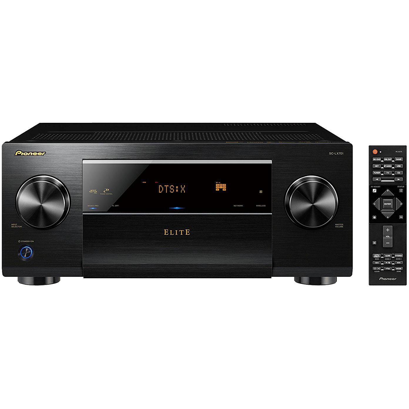 Pioneer SC-LX701 9.2ch Network AV Receiver Audio&Video Component Receiver Black by Pioneer